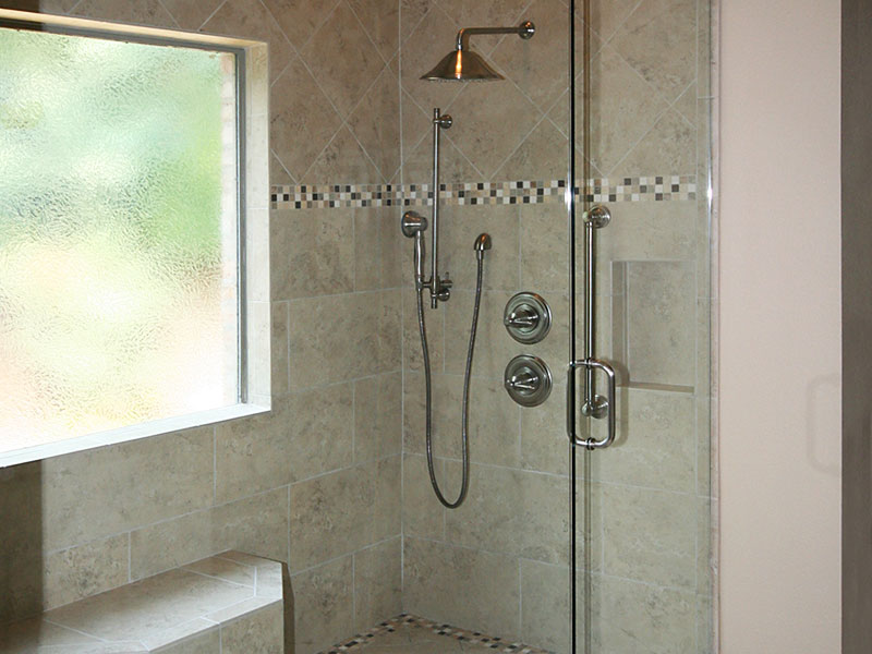 Master Bathroom Shower Remodeling