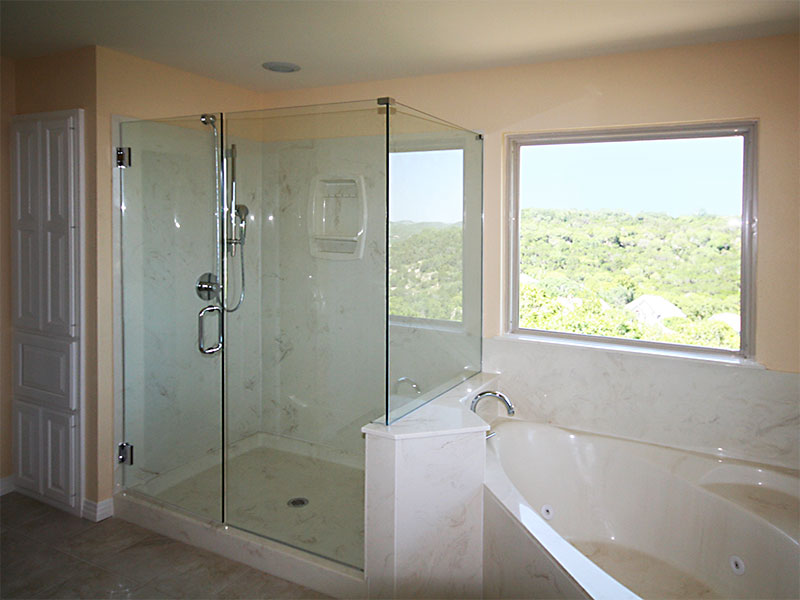 Master Bath Shower and Tub Remodeling