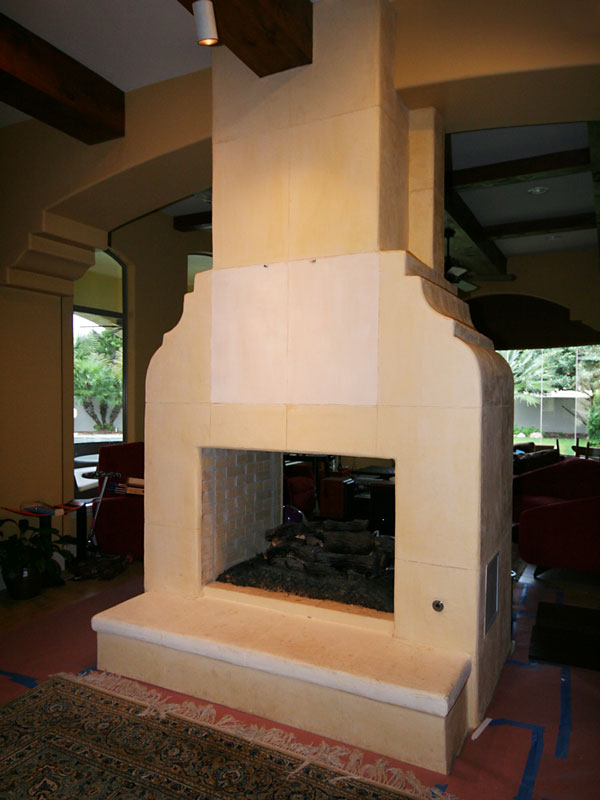 Fireplace Island Before