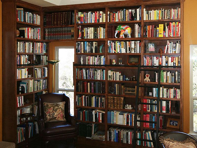 Custom Bookcase in Reading Room