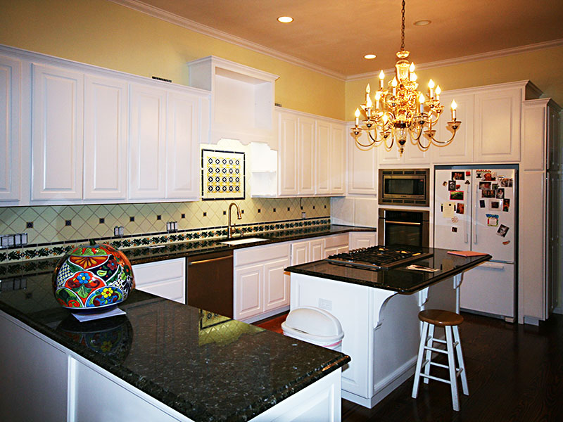 Spanish Kitchen After Remodeling