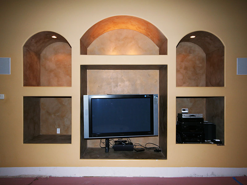 Before Remodeling TV Niche