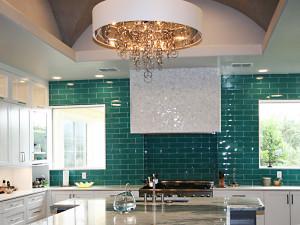 Emerald Kitchen Close Up