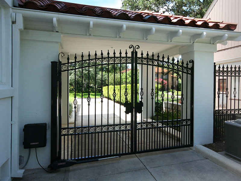 Driveway Security Gate Roxton Custom Home Remodeling