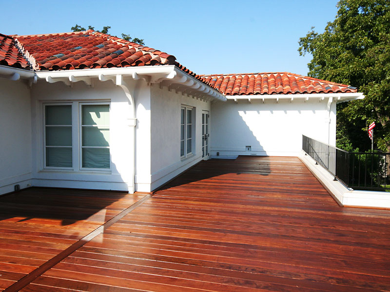 Outdoor Floating Terrace Deck