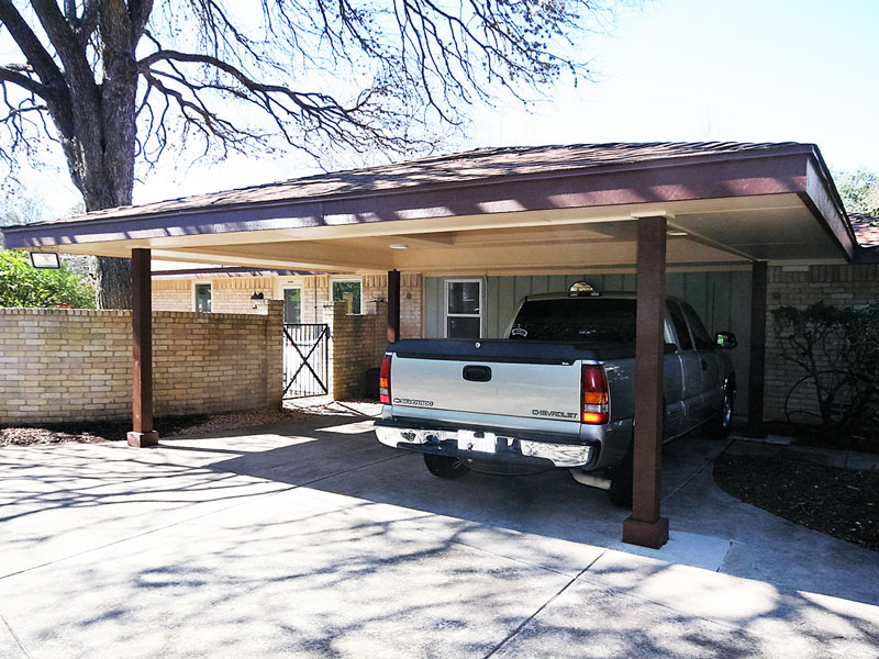 Carpoty addition roxton custom home remodeling for Carport additions