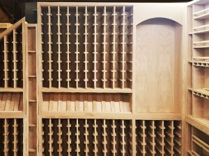 Wine Room Cabinetry Detail