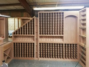 Wine Room Cabinetry